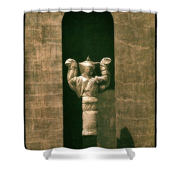 Statues Individual #1 Shower Curtain