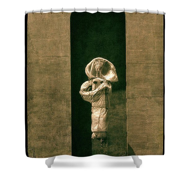 Statues Individual #2 Shower Curtain