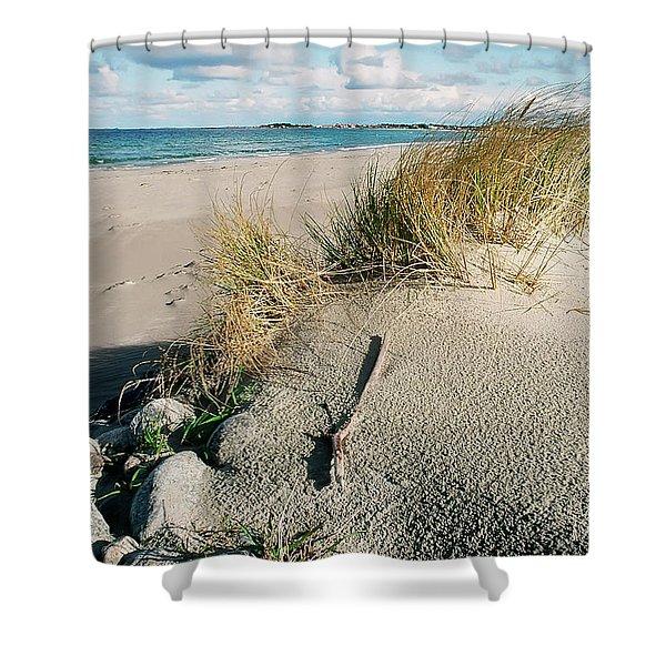 Stavanger Shore Shower Curtain