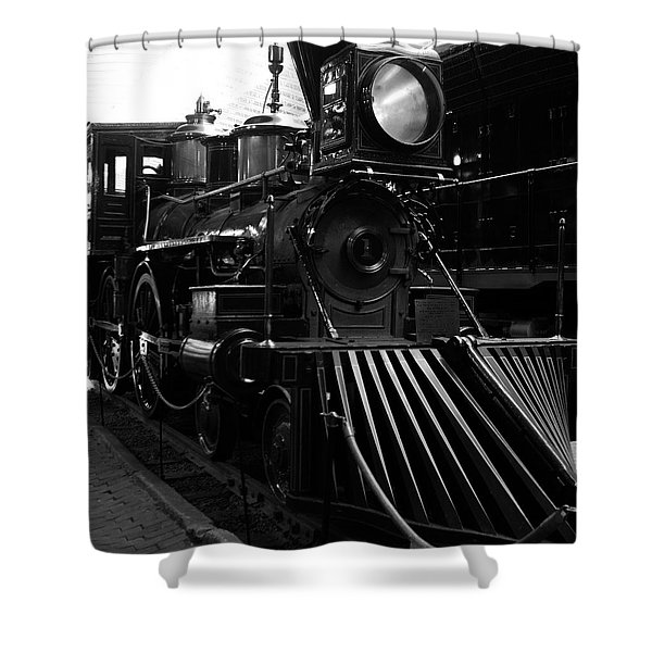 Choo-choo Shower Curtain