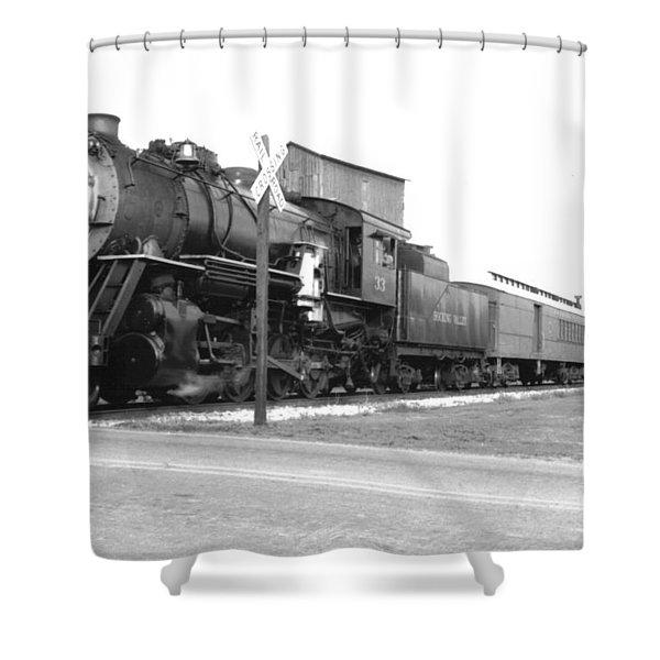 Steam In Motion Shower Curtain