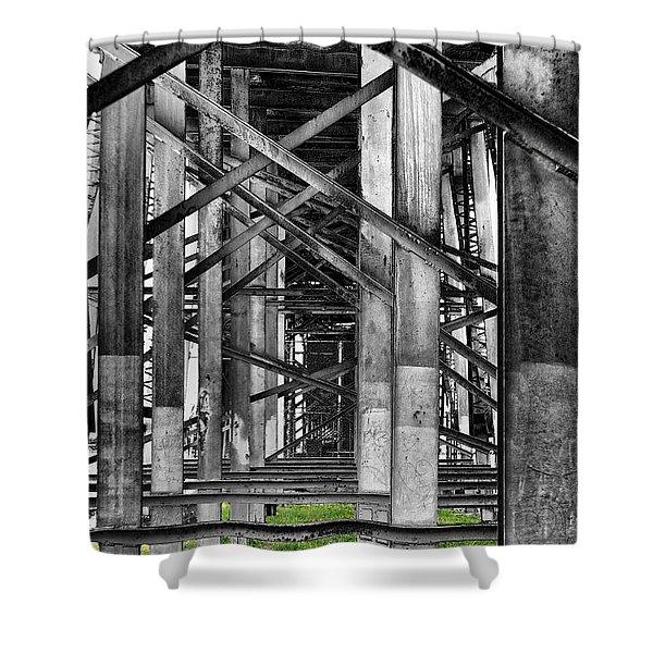 Steel Support Shower Curtain