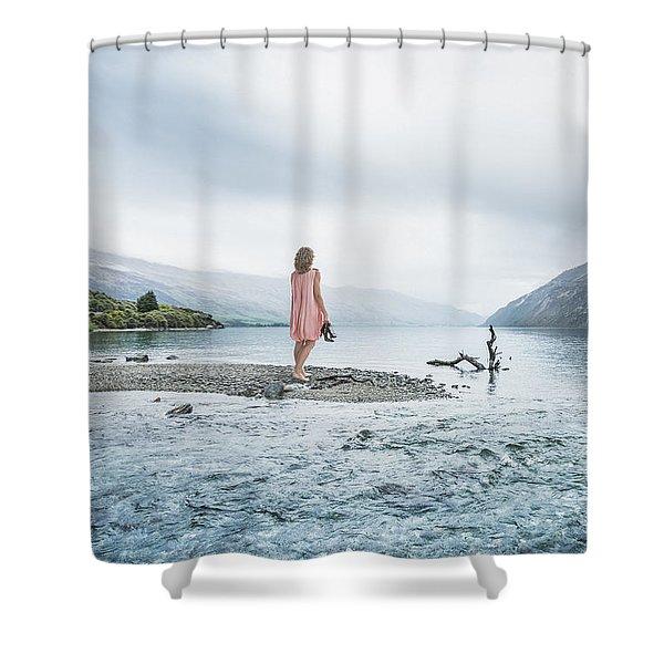 Step Inside The Dream Shower Curtain