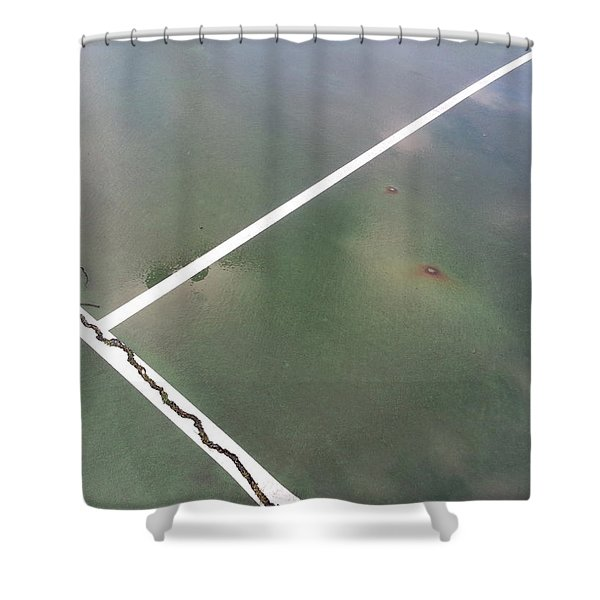 Step On A Crack... Shower Curtain