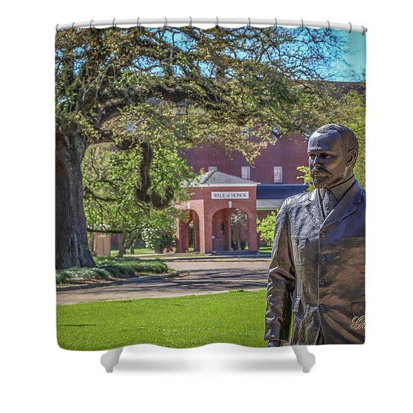 Stephens, Oaks And Walk Of Honor Shower Curtain