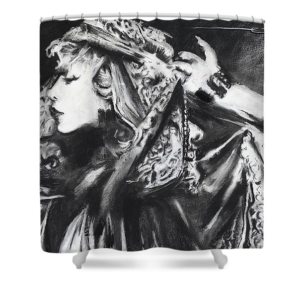 Stephie Lynn's Not My Lover Shower Curtain