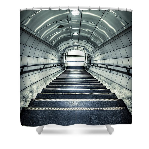 Steppings Tones Shower Curtain
