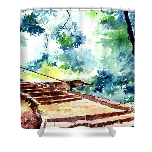 Steps To Eternity Shower Curtain