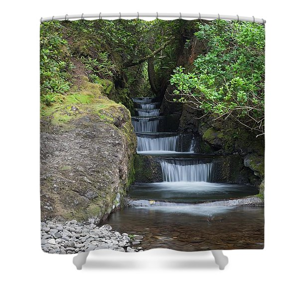 Steps To Serenity Shower Curtain