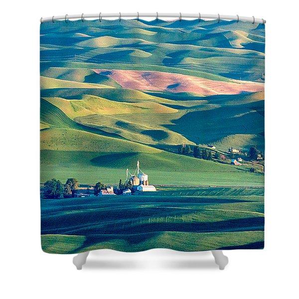 Steptoe View Shower Curtain