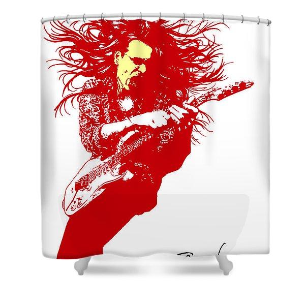Steve Vai No.01 Shower Curtain