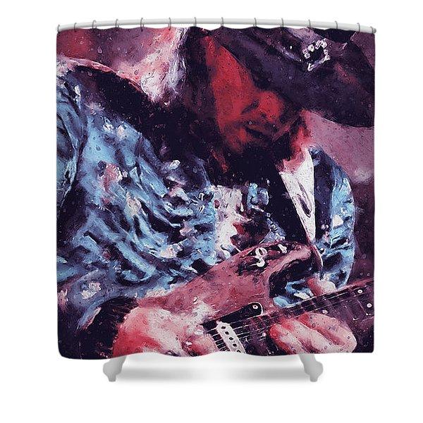 Stevie Ray Vaughan - 25 Shower Curtain