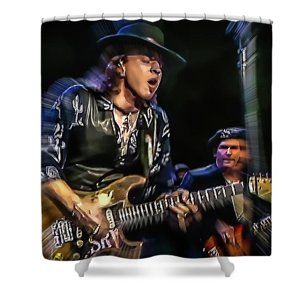 Stevie Ray Vaughan - Couldn't Stand The Weather Shower Curtain