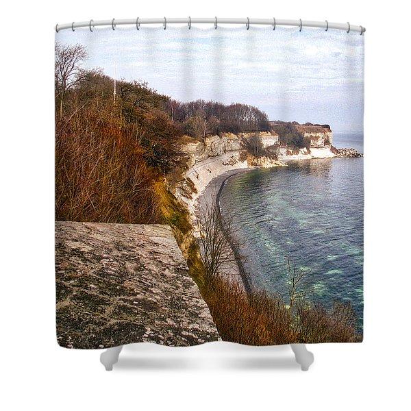 Stevns Klint Shower Curtain