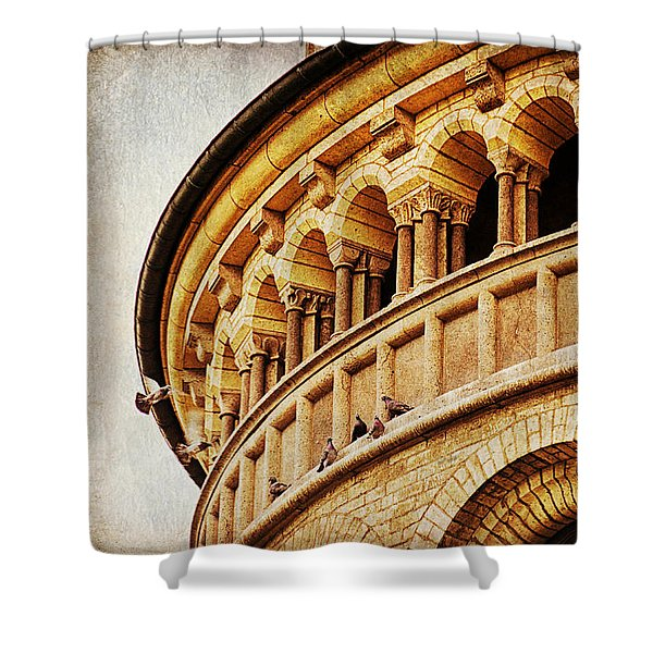 St. Gereon Church In Cologne, Germany Shower Curtain