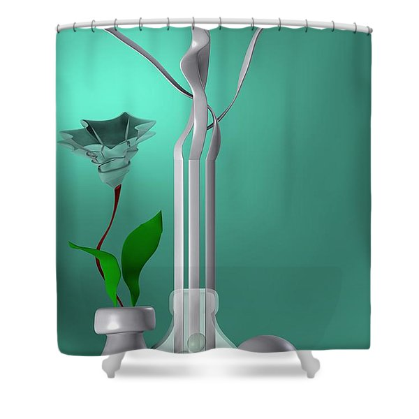 Still Life 1 Shower Curtain