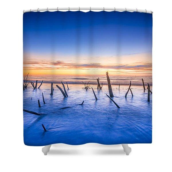 Still Standing Shower Curtain