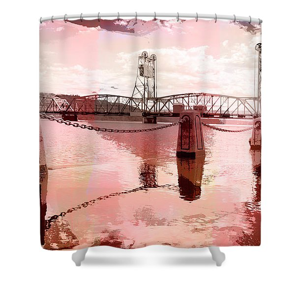 Still Waters Shower Curtain
