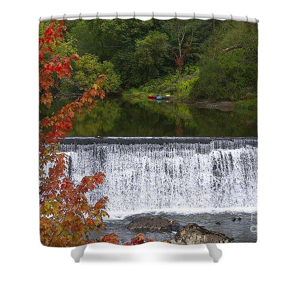 Stillness Of Beauty Shower Curtain