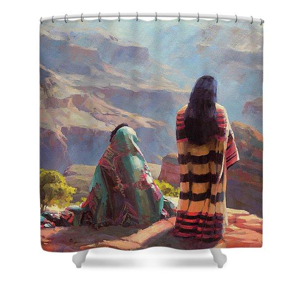 Stillness Shower Curtain