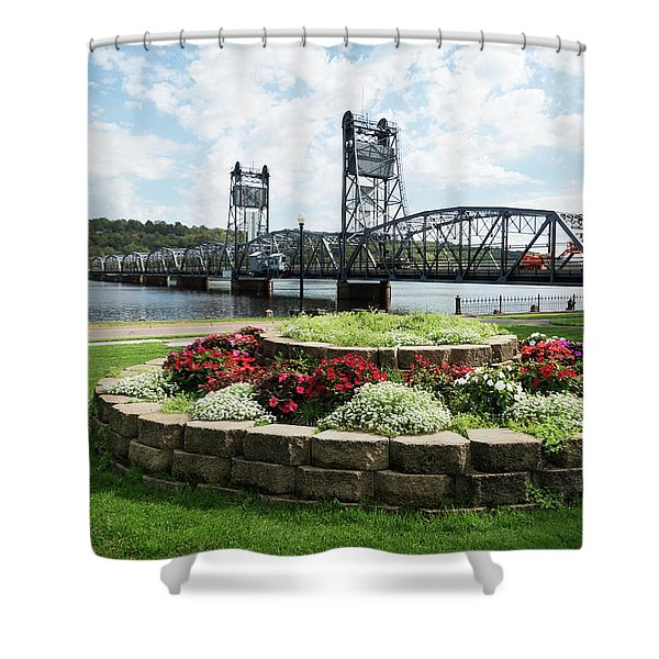 Stillwater And The Mississippi Shower Curtain