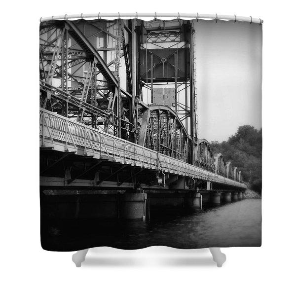 Stillwater Bridge  Shower Curtain