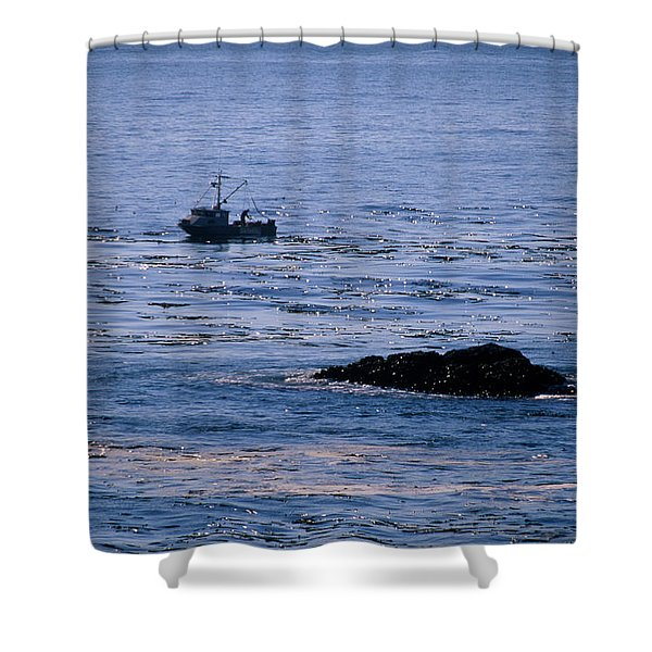 Stillwater Cove Shower Curtain