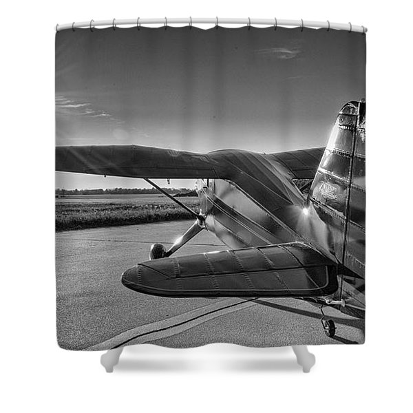 Stinson On The Ramp Shower Curtain