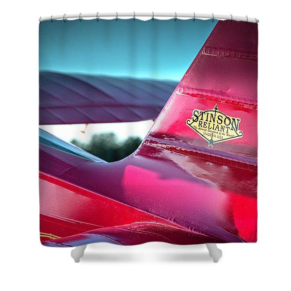 Stinson Reliant Shower Curtain