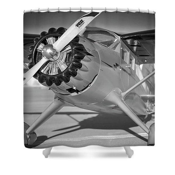 Stinson Reliant Sr-10 Rc Model Shower Curtain