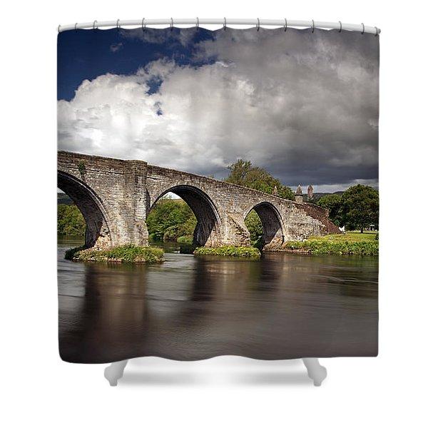 Stirling Bridge Shower Curtain