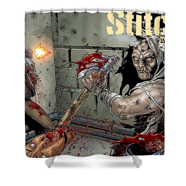 Stitched Shower Curtain