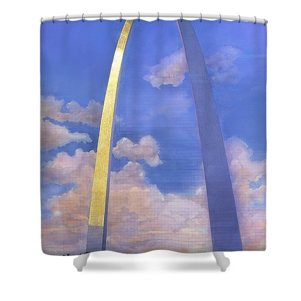 St.louis Gateway Arch Shower Curtain