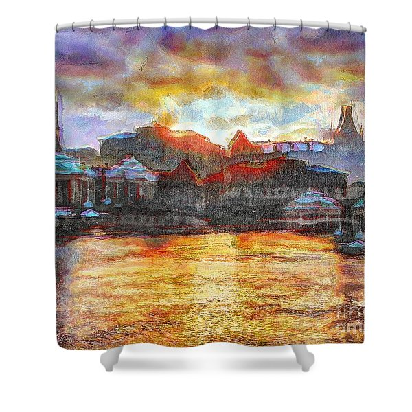 Stocholm Shower Curtain