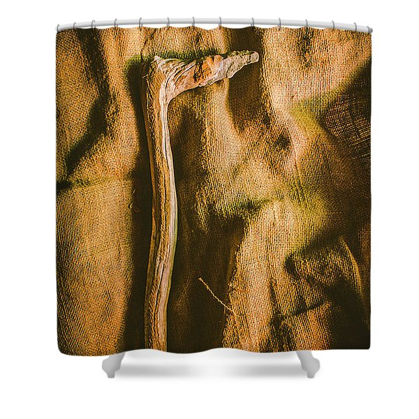 Stone Age Tools Shower Curtain