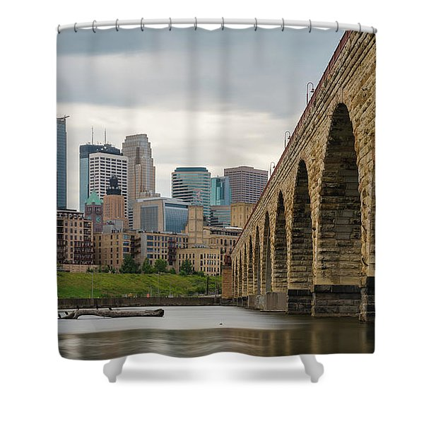 Stone Arch Minneapolis Shower Curtain