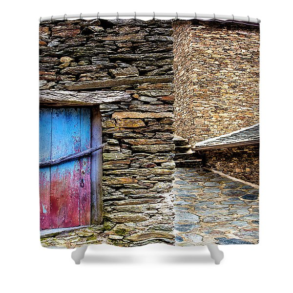 Stone By Stone Shower Curtain