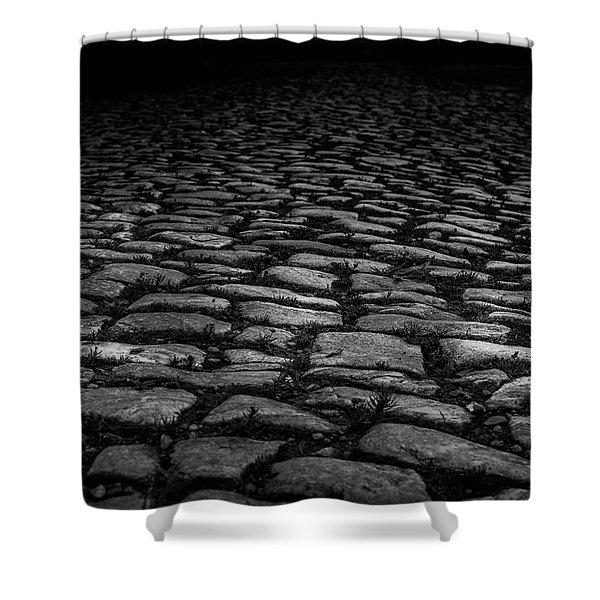 Stone Path Shower Curtain