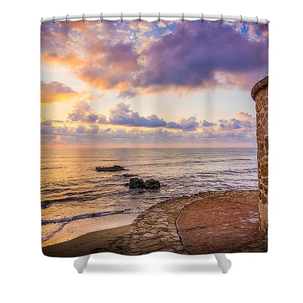 Stone Torre 3 Shower Curtain