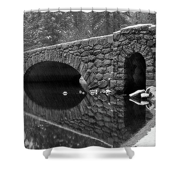 Stoneman Bridge Shower Curtain