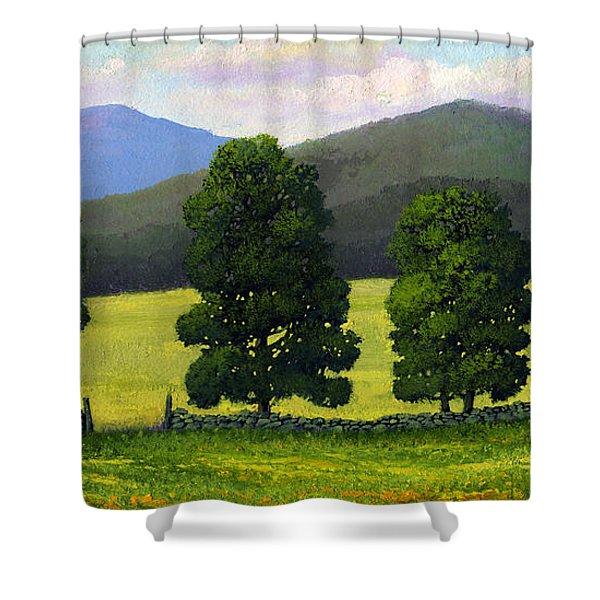 Stonewall Field Shower Curtain