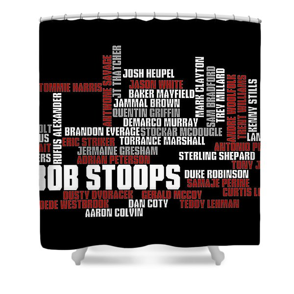 Stoops Greatest Sooners Shower Curtain