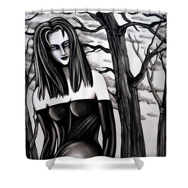 Who Do You Think You Are, Killing All My Trees Shower Curtain
