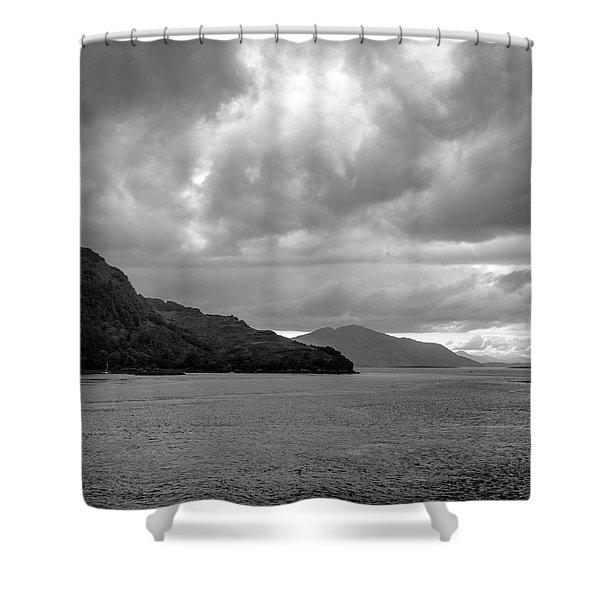 Storm On The Isle Of Skye, Scotland Shower Curtain