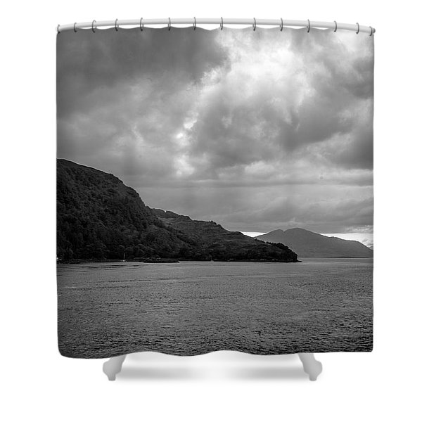 Storm On The Isle Of Skye, Scotland Shower Curtain
