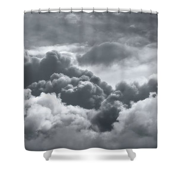 Storm Clouds Over Sheboygan Shower Curtain