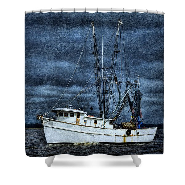 Storm Is Coming Shower Curtain