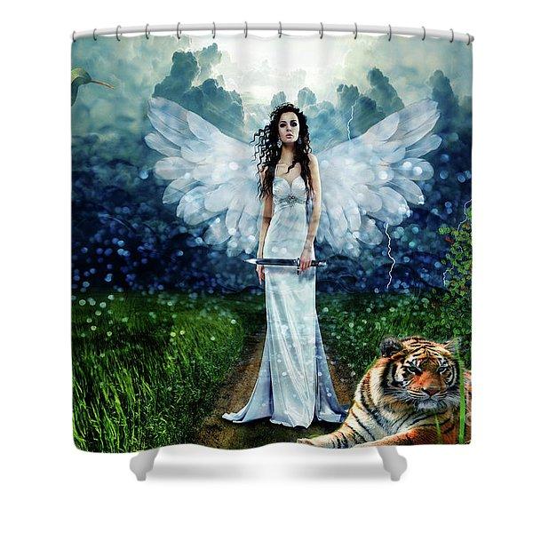 Storm Maiden Shower Curtain