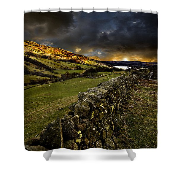Storm Over Windermere Shower Curtain
