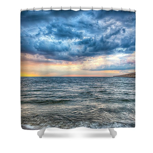 Storm Rising Shower Curtain